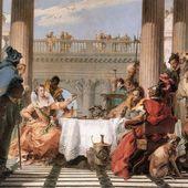 Tiepolo - Le banquet de Cléopatre - LANKAART