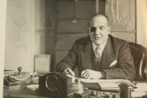 Vichy Commissioner for Jewish Affairs Arrives in Algeria