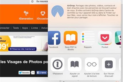 iOS 9 facilite la création de PDF à partir de photos ou de pages web ...