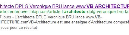 VB-Architecture : new website by Veronique BRU - powered by B'Leader