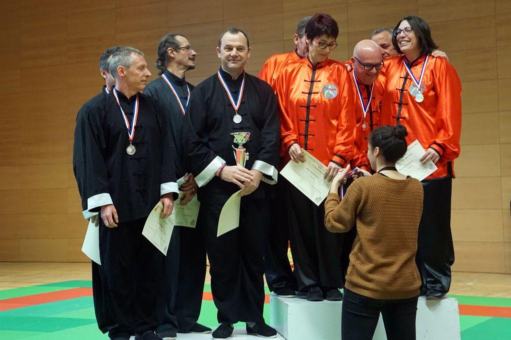 Championnats nationaux d'arts martiaux chinois internes