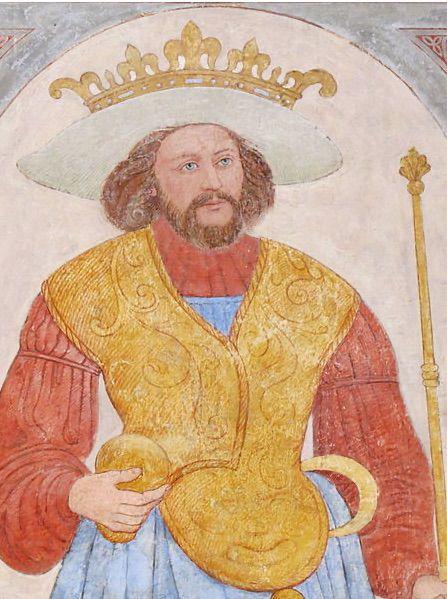 Harald (fresque du xvie siècle à cathédrale de Roskilde).