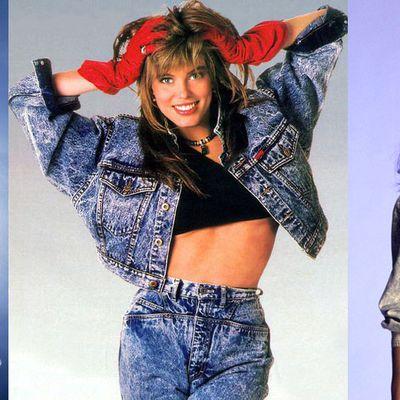 La mode du jean neige en 1988 par Nath-Didile