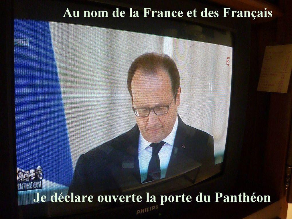 Pierre Brossolette, Germaine Tillon, Geneviève A. De Gaulle, Jean Zéa.... entrez au Panthéon avec ces clefs qui ouvrent sur la grandeur de la France et de tant de Français, vos contemporains dans vos heures de souffrances.