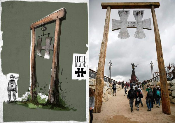 Hellfest guillotine warzone