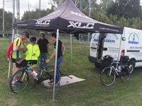 Plus de 800 cyclos sont passés par le Point d'accueil de Neufchateau. Ils ont apprécié l'accueil qui leur a été réservé grâce à la mobilisation de 50 bénévoles qui ont pris du plaisirs à participer à cette fête du vélo. Merci à tous