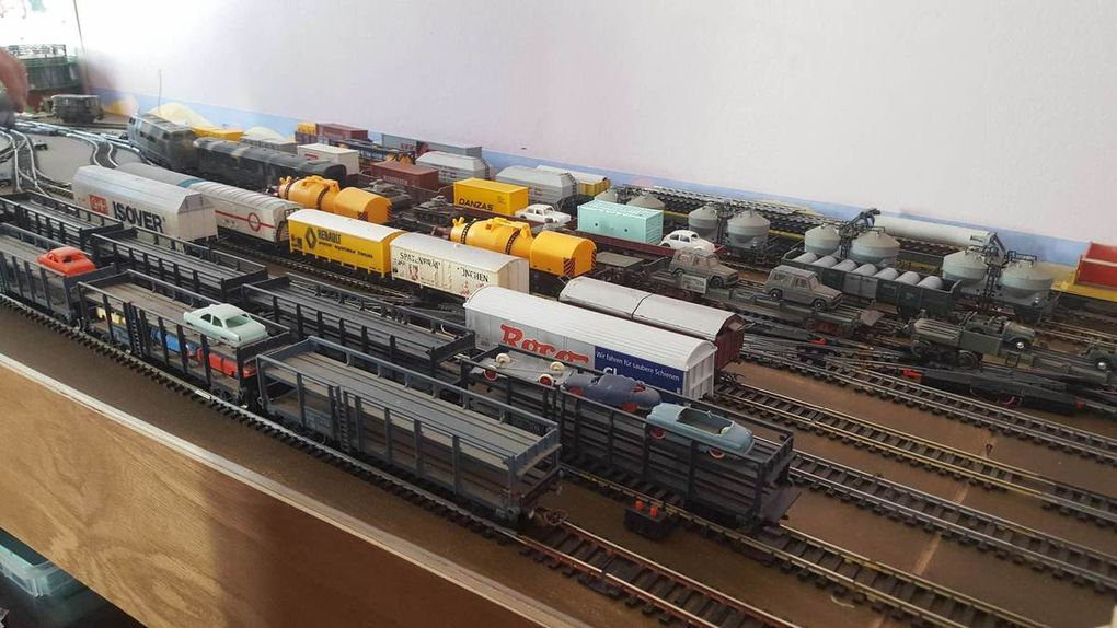 Intense activitée ce samedi au rail club Terrug presqu'île