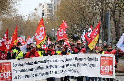 Appel national commun contre le démantèlement d'EDF