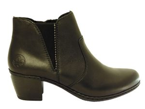 Bottines RIEKER : Y2170-00 noir