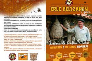 erle beltzaren eguna rendez vous à Bidarray dimanche 7 octobre