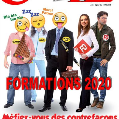 FORMATION SYNDICALES 2020