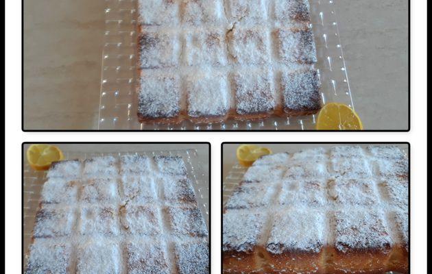 Petits carrés au citron extra