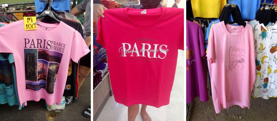 Le charme de la langue française (21-04)... et surtout de Paris !