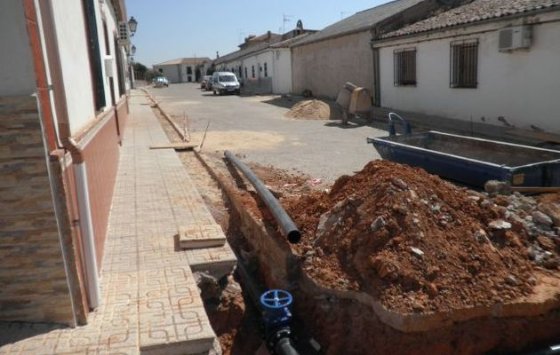 Corte de agua por obras