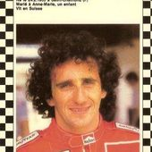 CARTE POSTALE ALAIN PROST SAISON F1 1986 - 1987 CPA F1 - car-collector.net