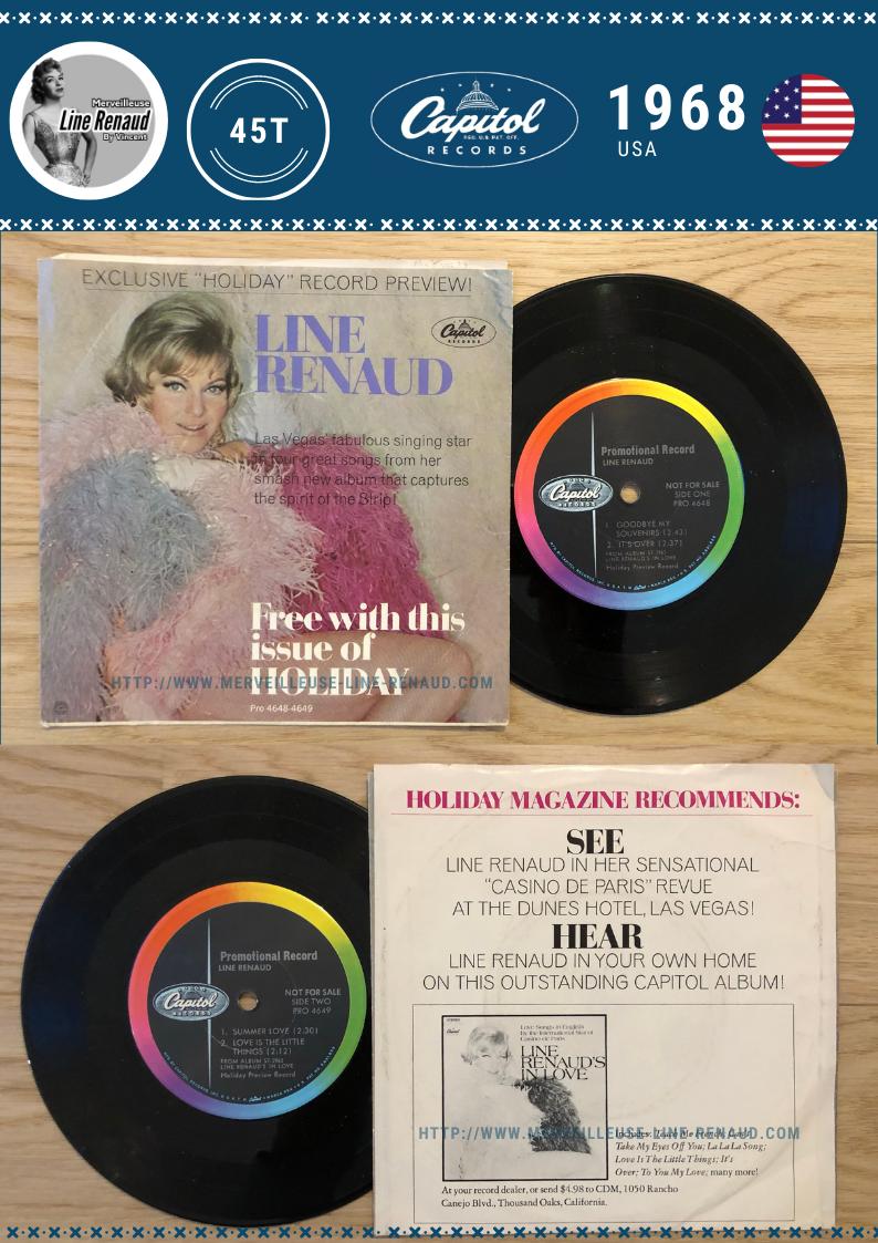 45 TOURS: 1968 Capitol - PRO 4648-4649 (USA)