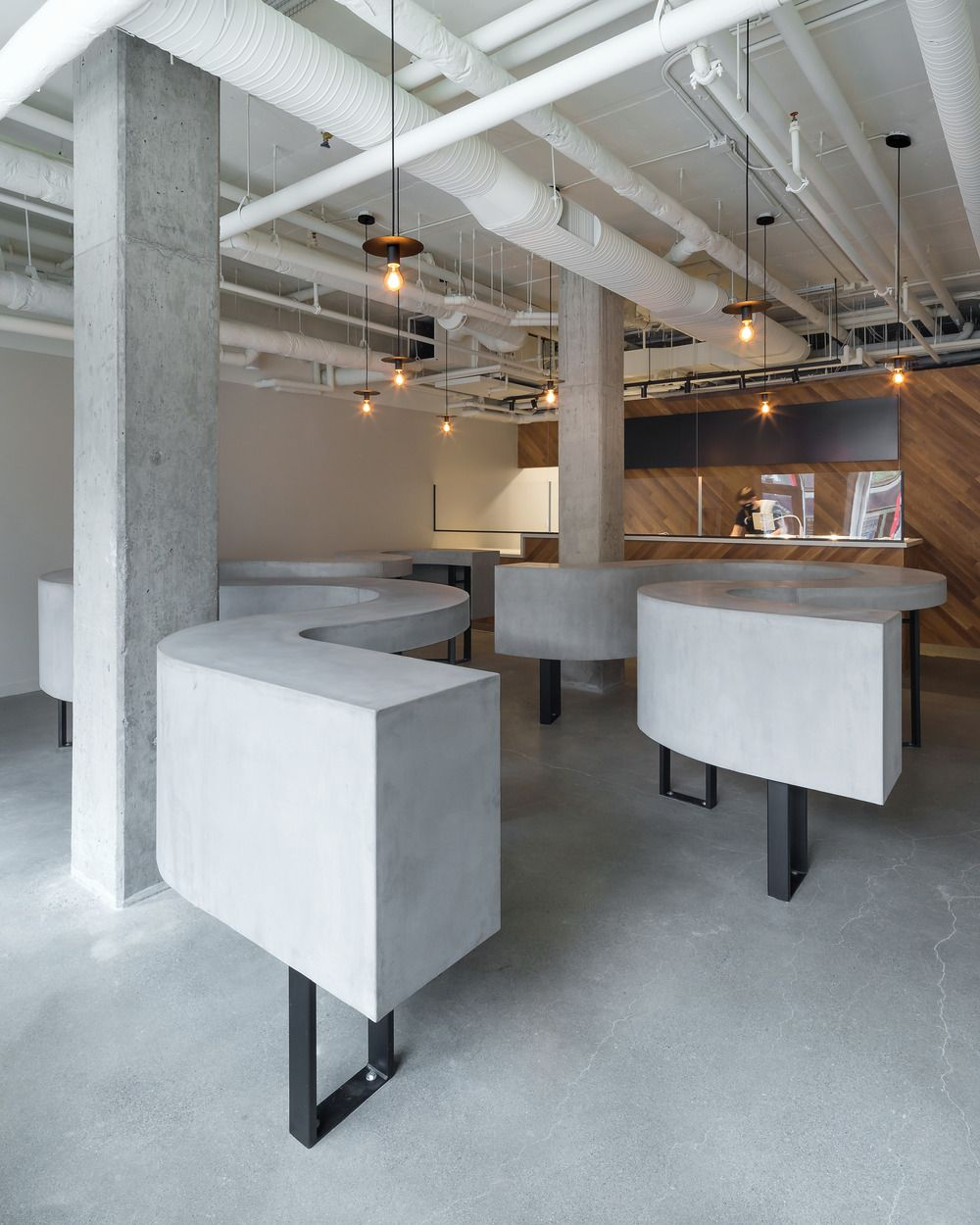 SHUCK SHUCK, A NEW FOOD CONCEPT IN VANCOUVER'S CHINATOWN, ON EAST PENDER STREET, DESIGNED BY BATAY-CSORBA ARCHITECTS