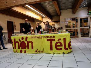 ST André les Alpes  : Téléthon Merci 2018