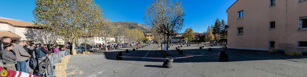 St André les Alpes  : Karting sur la place de Verdun avec  ASKC