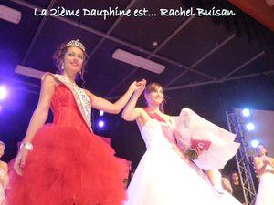 Miss Saintes 2015.. Aurélie Nouveau, 1ière dauphine Noémie Coudret, 2ième dauphine Rachel Buisan... et à bientôt en ligne ou en entretien.