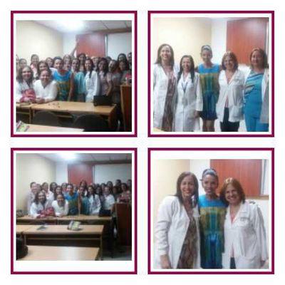 Realizado con exito Seminario Lecciones de Feminidad en Hospital Central de Maracay 16/05/17