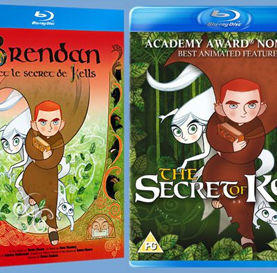 The secret of Kells: comparatif Blu-ray Fr - UK