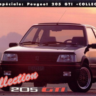 """205 GTI """"collection"""""""