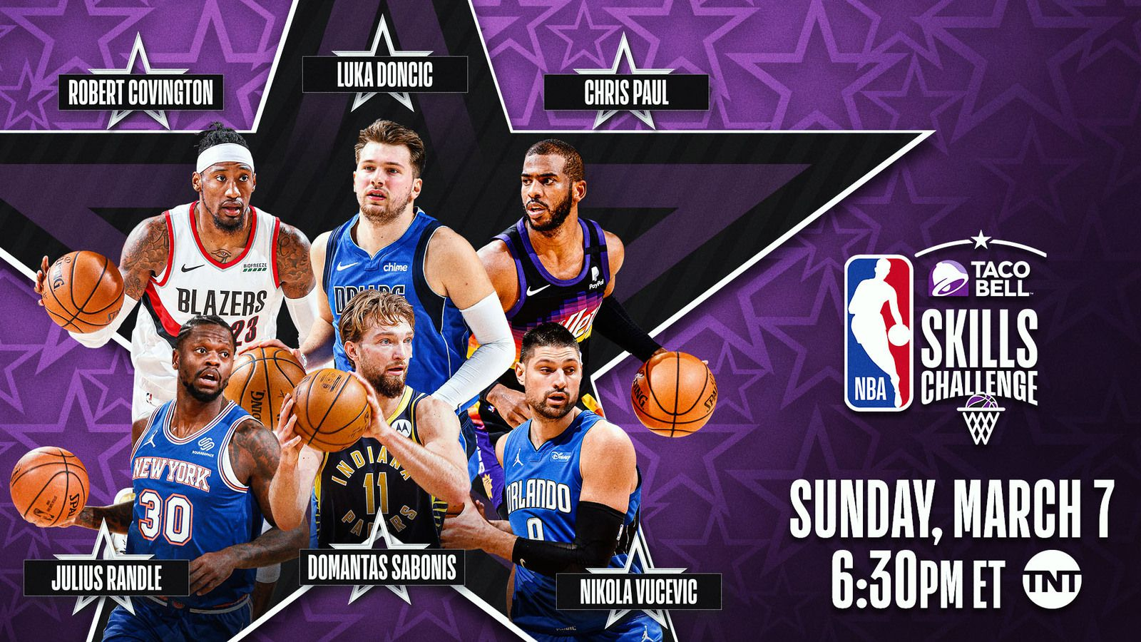 All-Star Game : Luka Doncic et Chris Paul prendront part au Skills Challenge