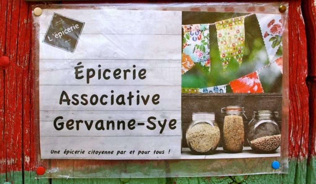 L'épicerie de Beaufort-sur-Gervanne privilégie les producteurs locaux et les produits bio. L'association a d'ailleurs bénéficié de l'accompagnement du G.R.A.P. (Groupement Régional Alimentaire de Proximité), coopérative d'alimentation locale et/ou biologique qui favorise les circuits courts.