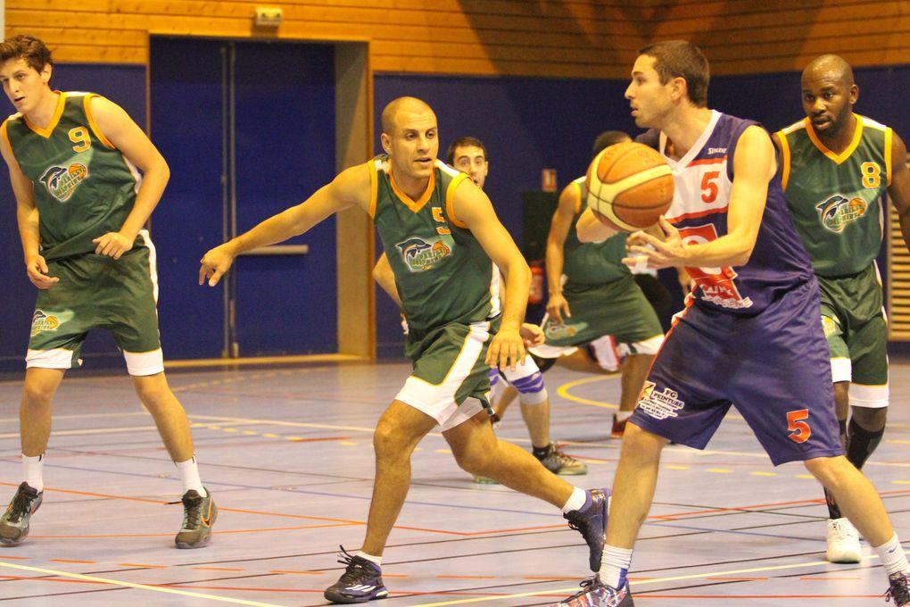 Premièr succès de la saison pour les basketteurs de Parilly