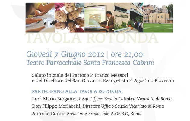 A Rome, des initiatives de collaboration école/paroisse /..../ In Rome, initiatives of collaboration school/parish