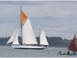 Yacht Etoile Polaire, ketch aurique de 1914...