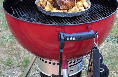 Mon barbecue Master Touch Weber : ma famille et mes amis...