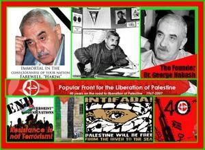 Georges Habache, fondateur du Front populaire de libération de la Palestine (FPLP) est décédé
