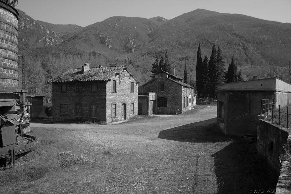 Le Carreau de la mine d'Arles-sur-Tech