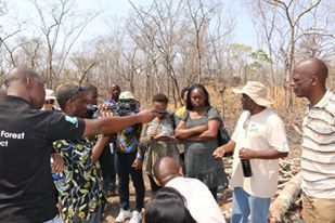 Selling Zambia's media editors on science and environmental stories