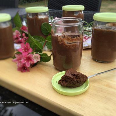 Mousse au chocolat noir avec seulement 2 ingrédients au companion thermomix ou sans robot