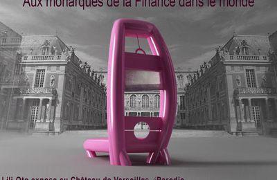 Exposition au château de Versailles de l'artiste français Lili-oto, n'oubliez pas!