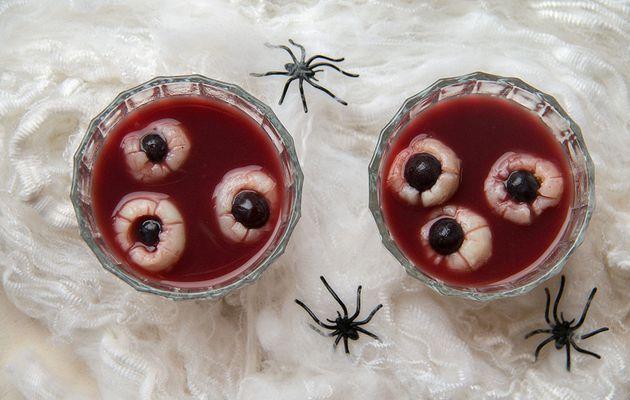 Yeux des Sépulcreux (boisson pour Halloween)