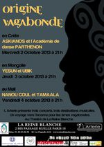 à Paris : Yesun et Ubik : la Mongolie à l'honneur du Festival Origine Vagabonde