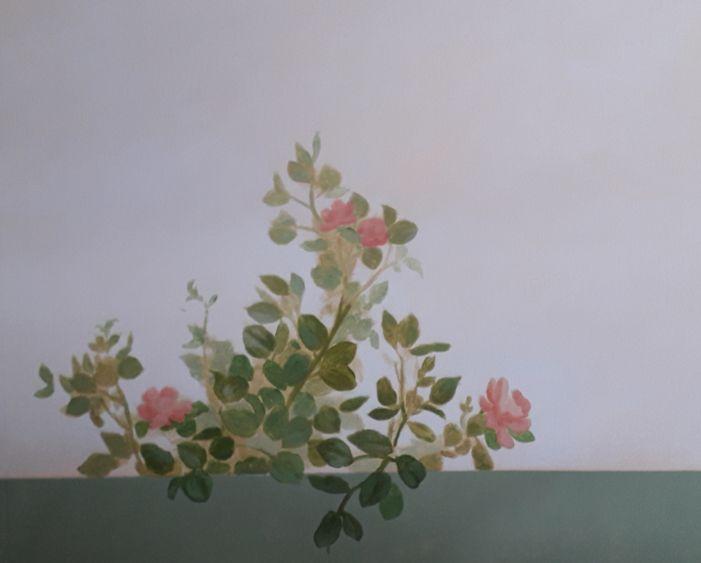 peinture murale - ciel peint - panoramique - fleurs - oiseaux - plafond peint