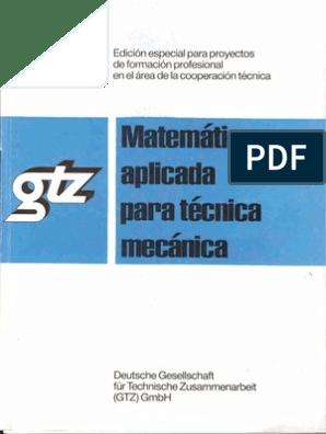 Libro Gtz Mecanica