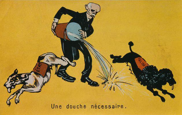 """Commentaires de documents sur la """"loi de séparation de l'Eglise et de l'Etat"""", 1905"""