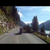 84 Goldwing Unsersbande Tirol 2015 Montée vers le Kaunertal 3