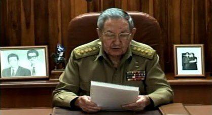 Allocution de Raul CASTRO président cubain [La Havane - 17 décembre 2014]