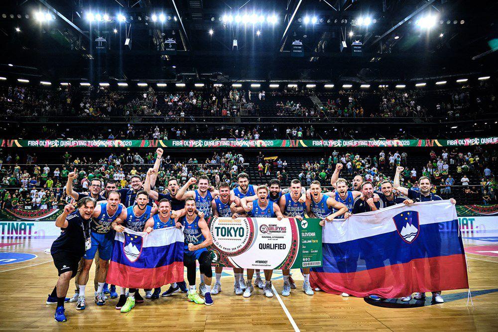 TQO 2021 (Lituanie) : Un Luka Doncic stratosphérique mène la Slovénie aux Jeux Olympiques de Tokyo !