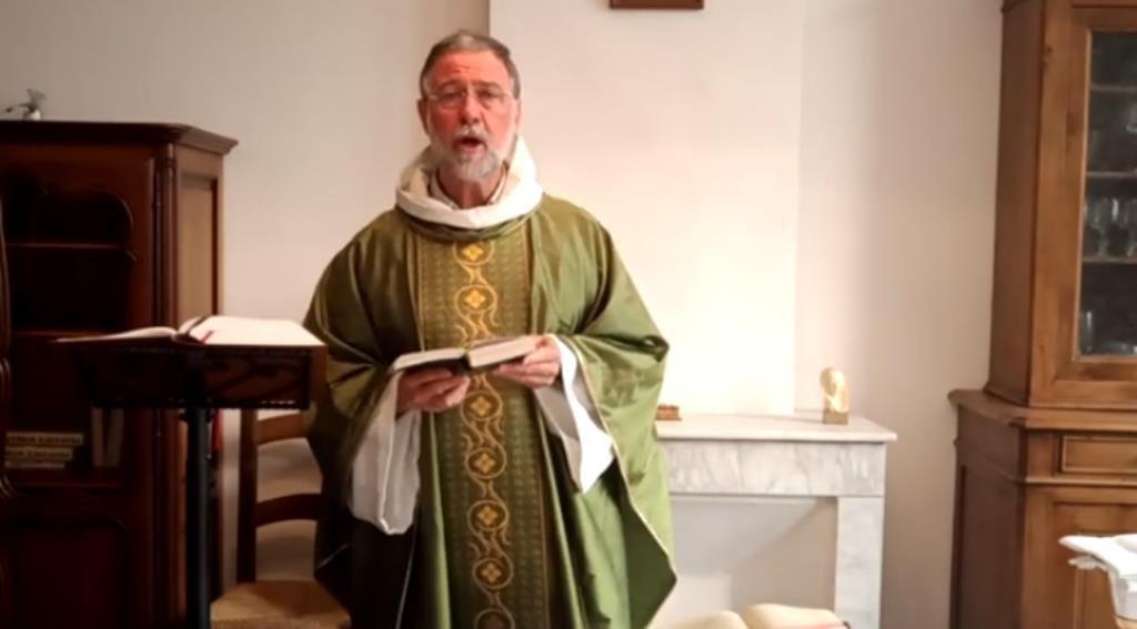 Messe célébrée par le Michel Isoard