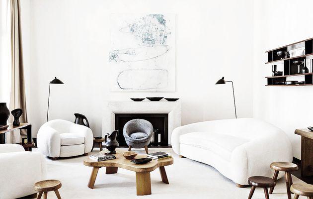 L'appartement berlinois d'un français féru de mobilier mid-century