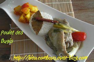 Poulet des Bugis ou Ayam Masak Bugis (Indonésie)