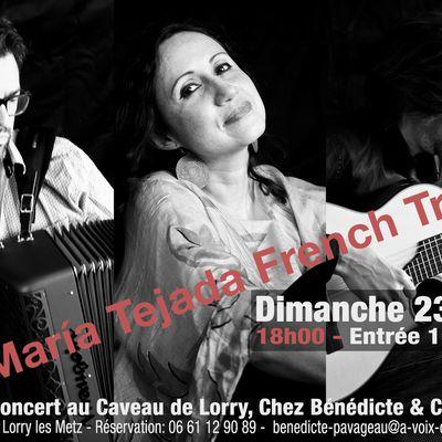 Maria Tejada , Donald Régnier et Stéphane Escoms